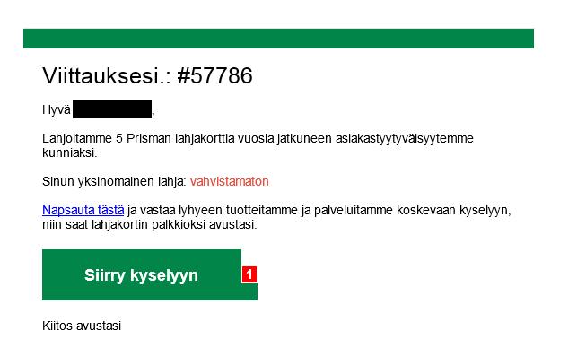 Älä missään tapauksessa klikkaa: EUROPRISMA500 on kallis tilausansa
