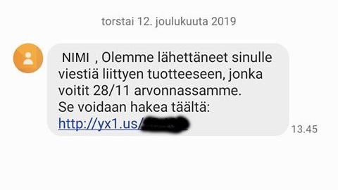 Varo Suomessa leviävää tekstiviestihuijausta - Huijauksia lähetetty muun muassa Postin ja Sokoksen nimissä