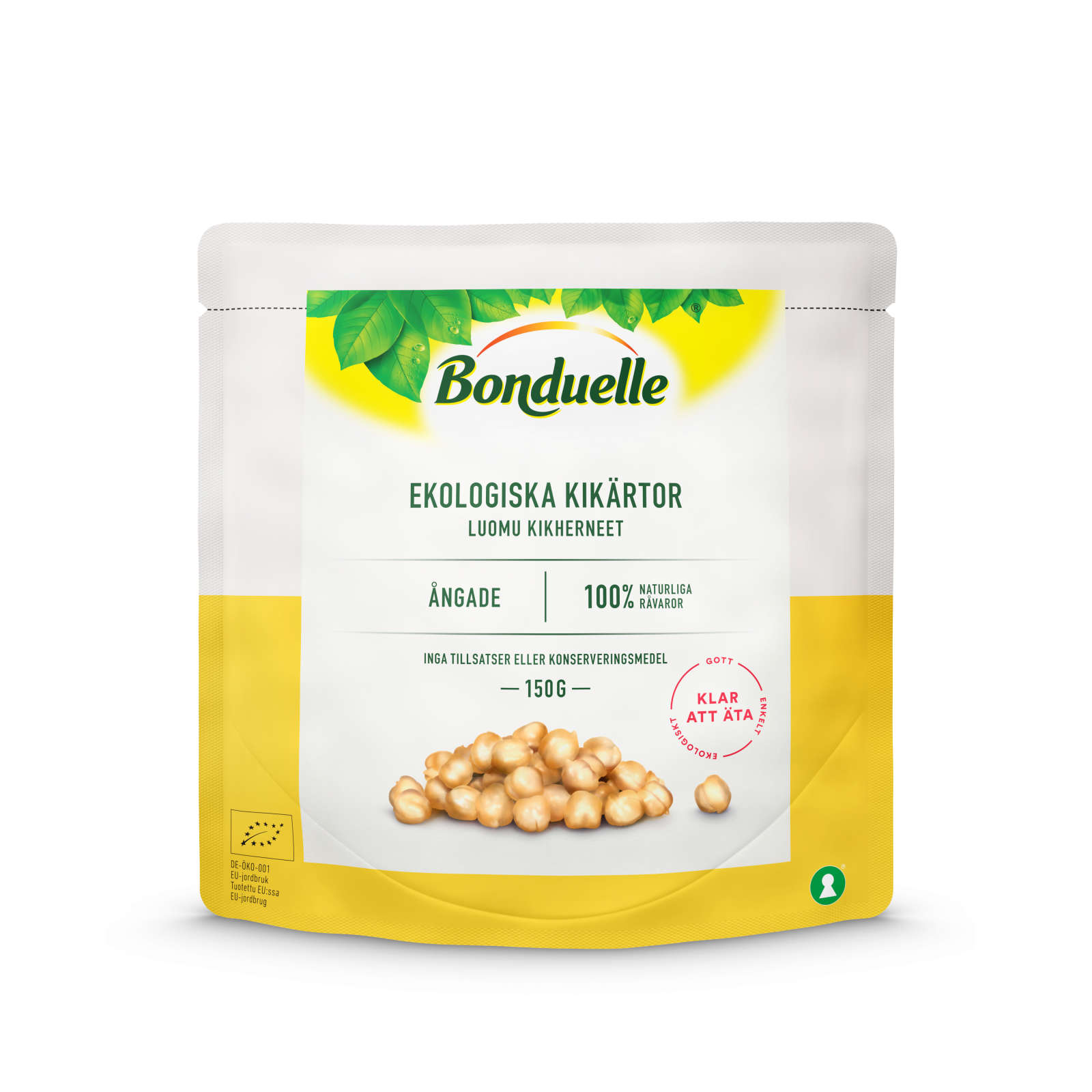 Bonduelle Chickpeas 150g 3D RGB high