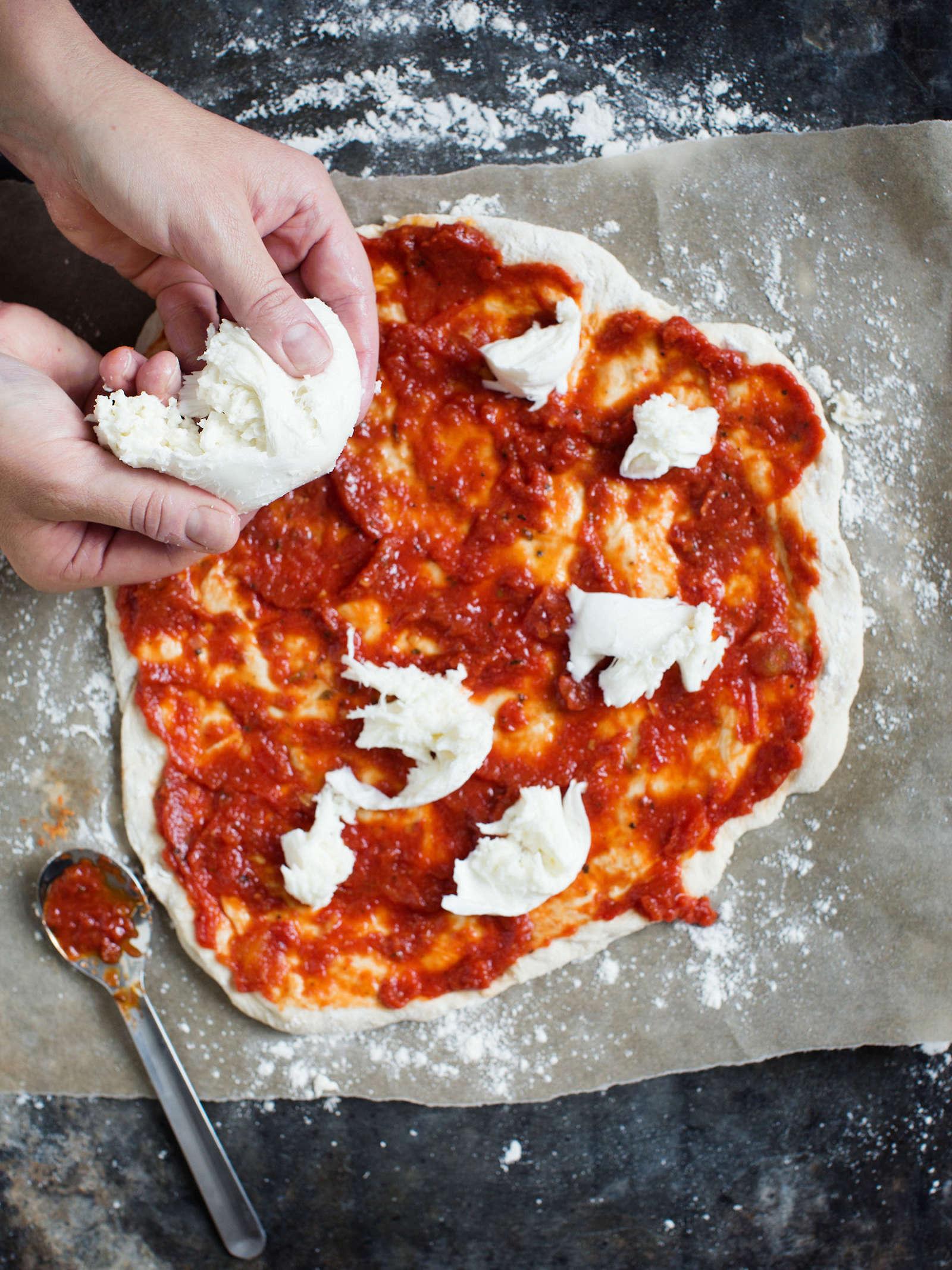 Pizzan Uudelleen Lämmitys Uunissa