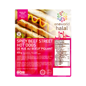 Spicy Beef Street Hot Dogs