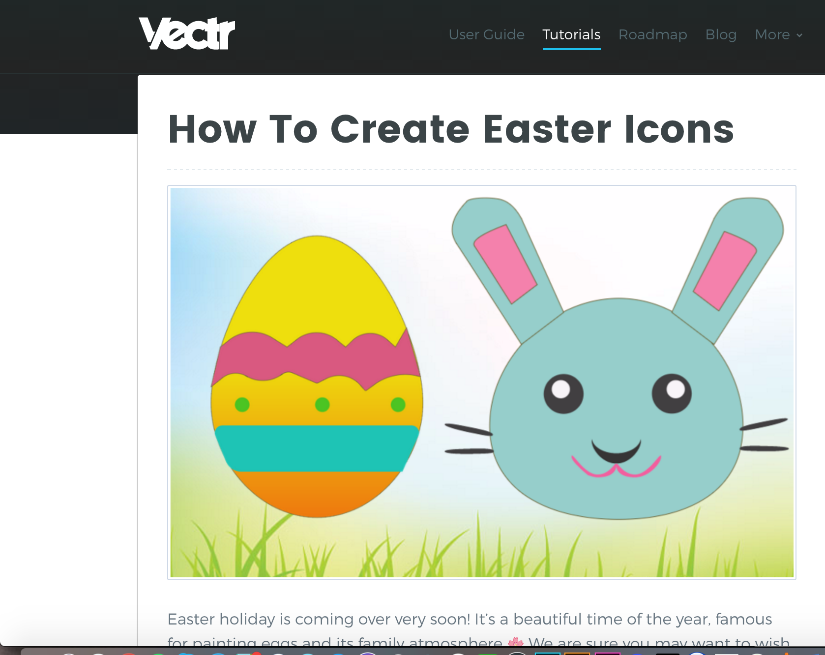 easter icons tutorial
