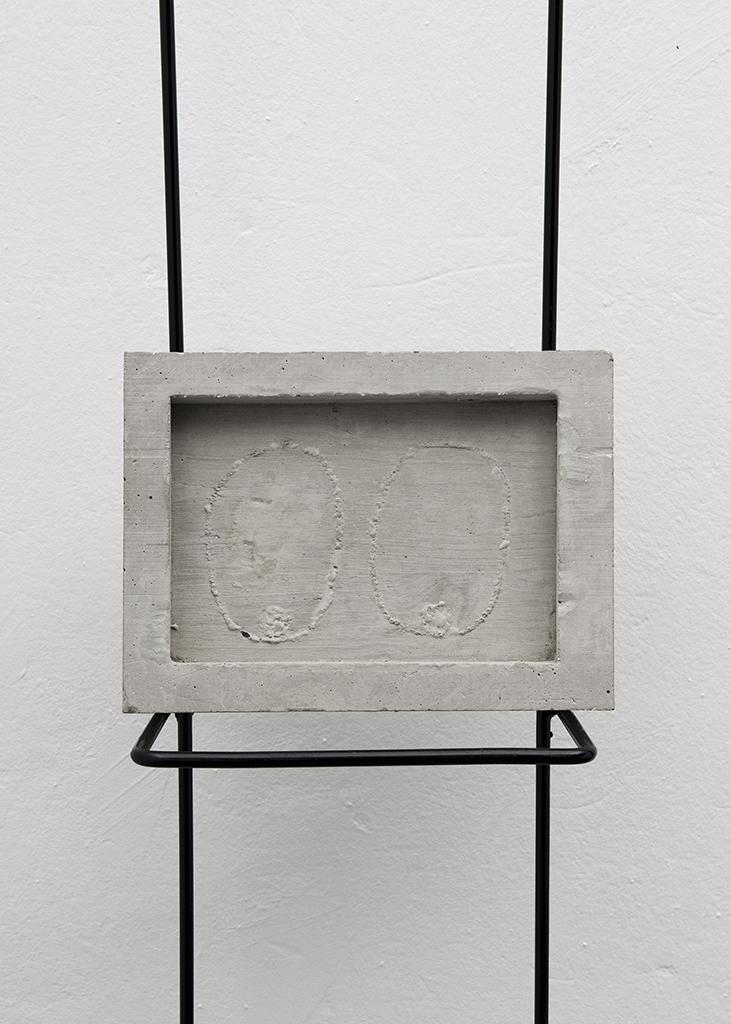 Les yeux du fantôme, 50x150x15cm, Imago, Lausanne (CH), 2014