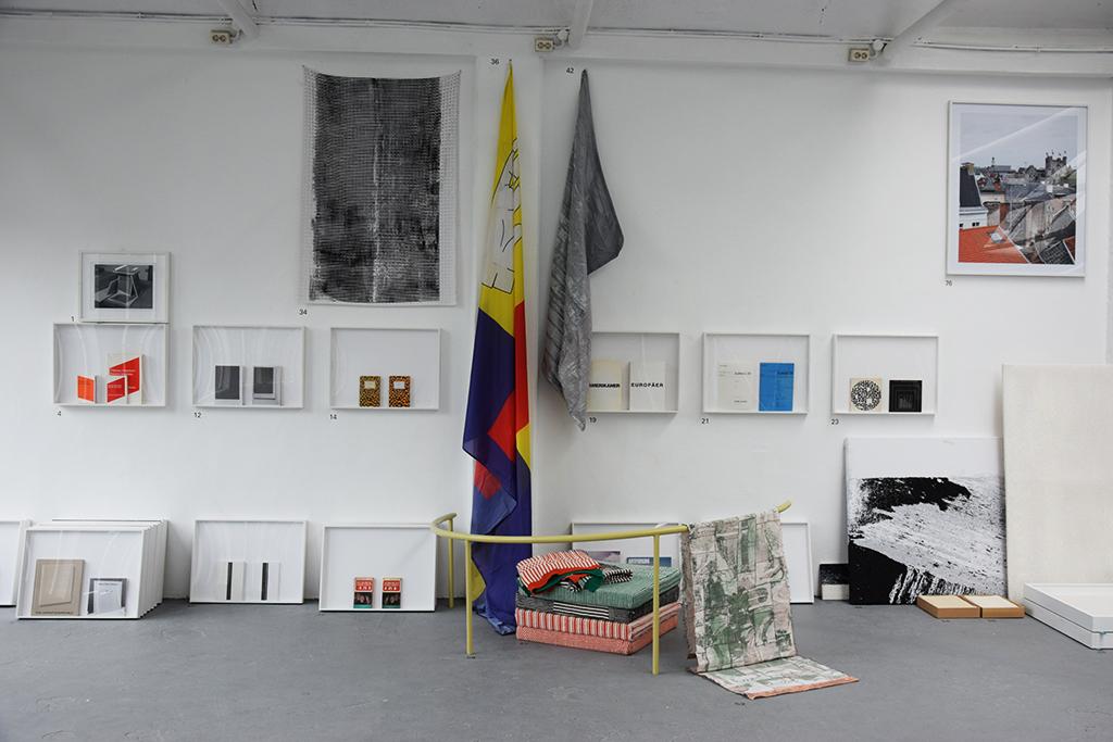 Untitled (flag), during Dutch Design Week, De Fabriek, Eindhoven, Fall 2017