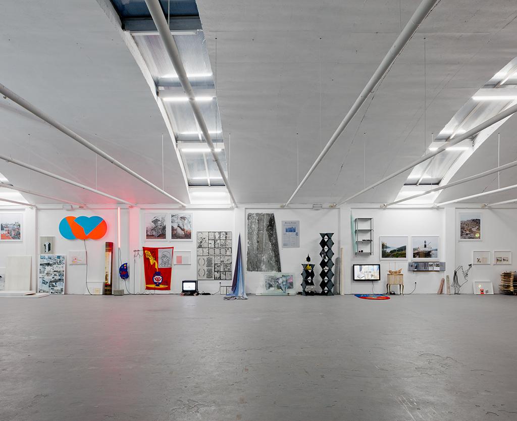 Exhibtion view, during Dutch Design Week, De Fabriek, Eindhoven, Fall 2017