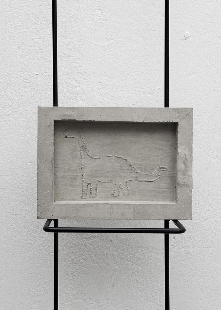 Dino Terreur, 50x150x15cm, Imago, Lausanne (CH), 2014