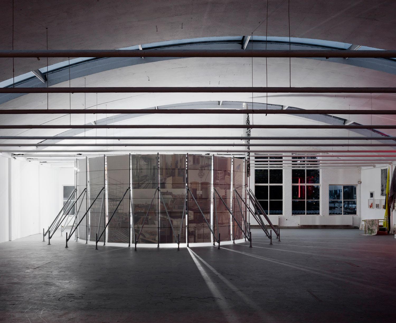 Exhibition view, during Dutch Design Week, De Fabriek, Eindhoven, Fall 2017