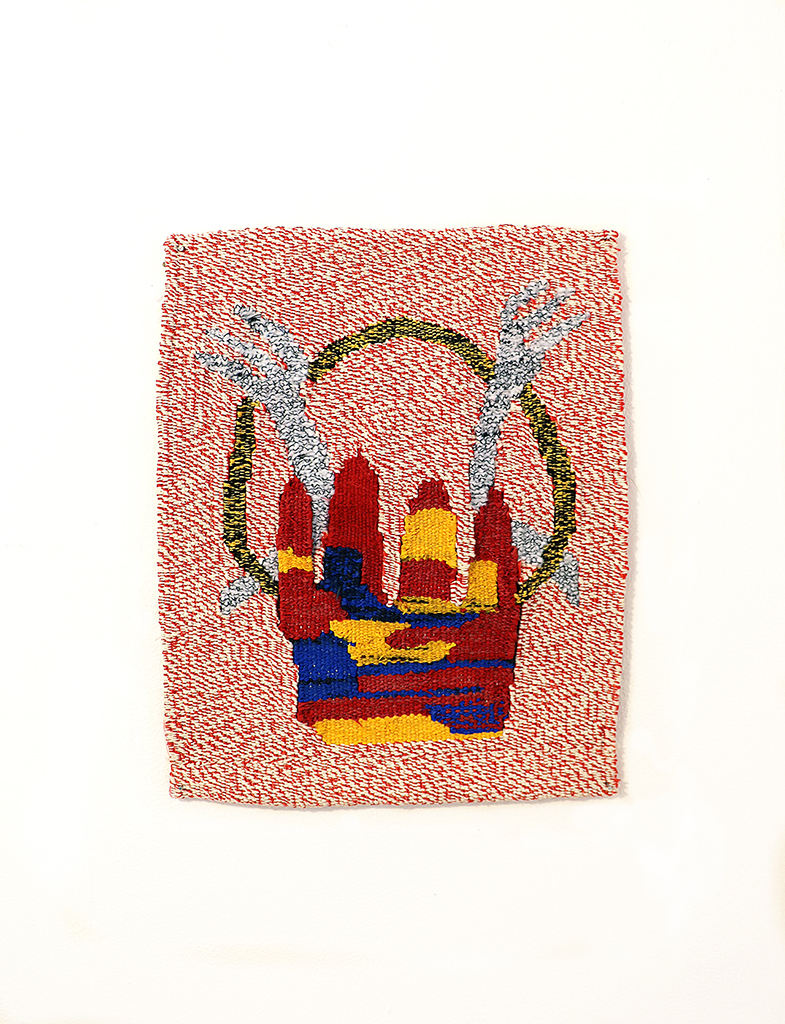 Untitled (tapestry), cotton, ficelle, 30x25cm, Brussels (BE), Autumn 2016