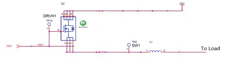 pspice建模,如图5所示;建模与测试实际电路的结果则