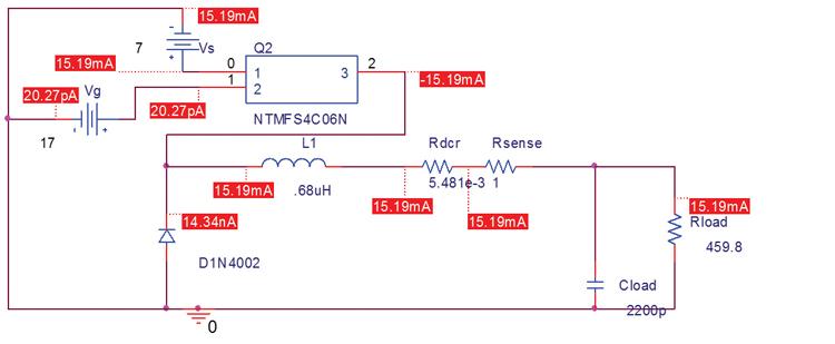 rsense电路的pspice模式