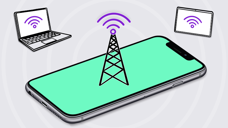 How to use your iPhone & Android phone as a mobile hotspot | Asurion