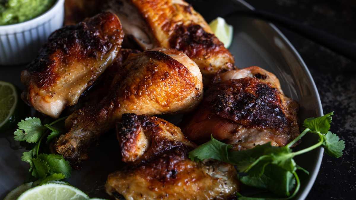 Peruvian Style Roast Chicken