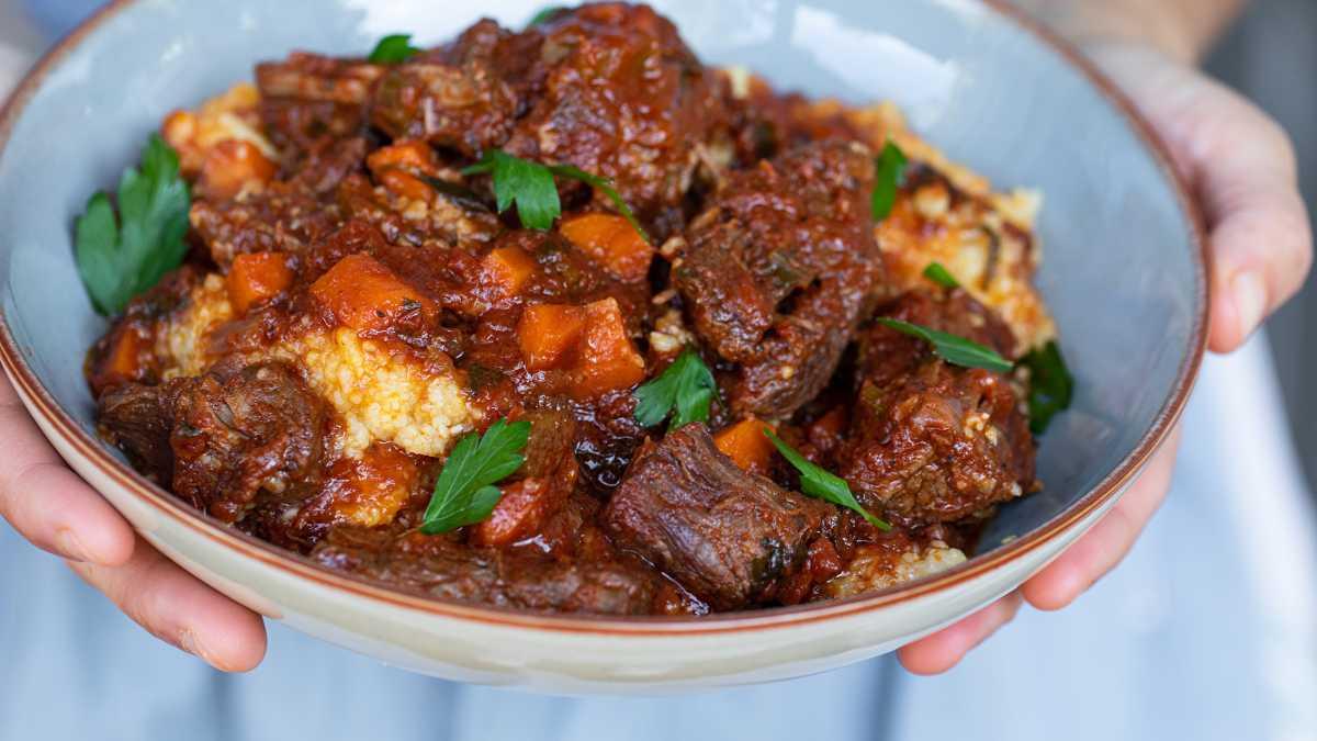 Italian Braised Beef Stew