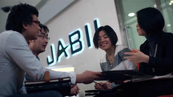 Hear Jabil share their views on the project image