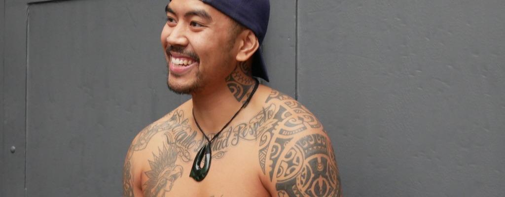Tatouage maori en France