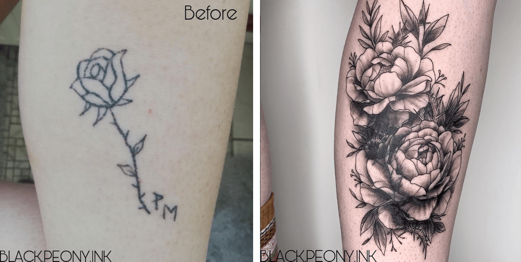 Tatouage Rate Comment Recouvrir Un Tattoo Cover Up