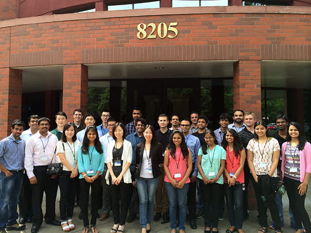 Student Program kickoff at Siemens location in Oregon