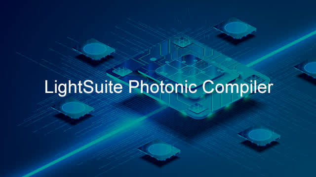 Image with overlay - Lightsuite Photonic Compiler