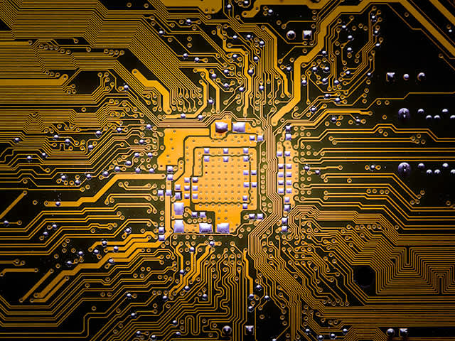 Process Automation / gold circuit board