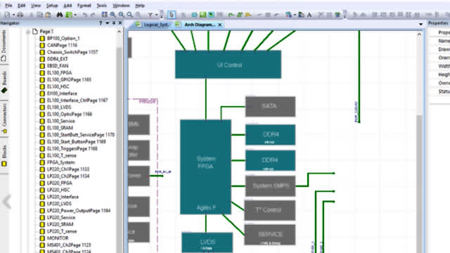 Screenshot of design layout | With system design concurrency, companies can concurrently define a multi-board system with multiple engineers and start defining individual associated boards while the system definition is still in process.