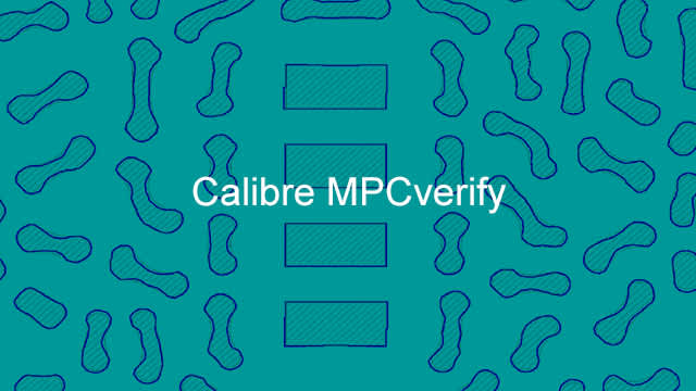 calibre mpcverify product