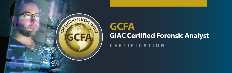 GCFA GIAC Certification