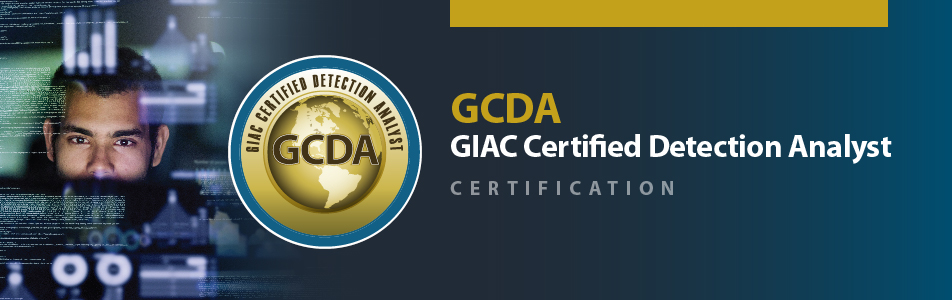 GCDA GIAC Certification Banner