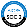 AICPA/SOC2 badge