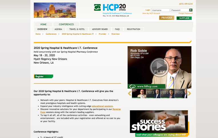 23. Hospital & Healthcare IT Conference