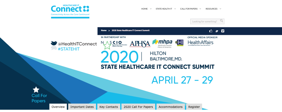 18. State Healthcare IT Connect Summit