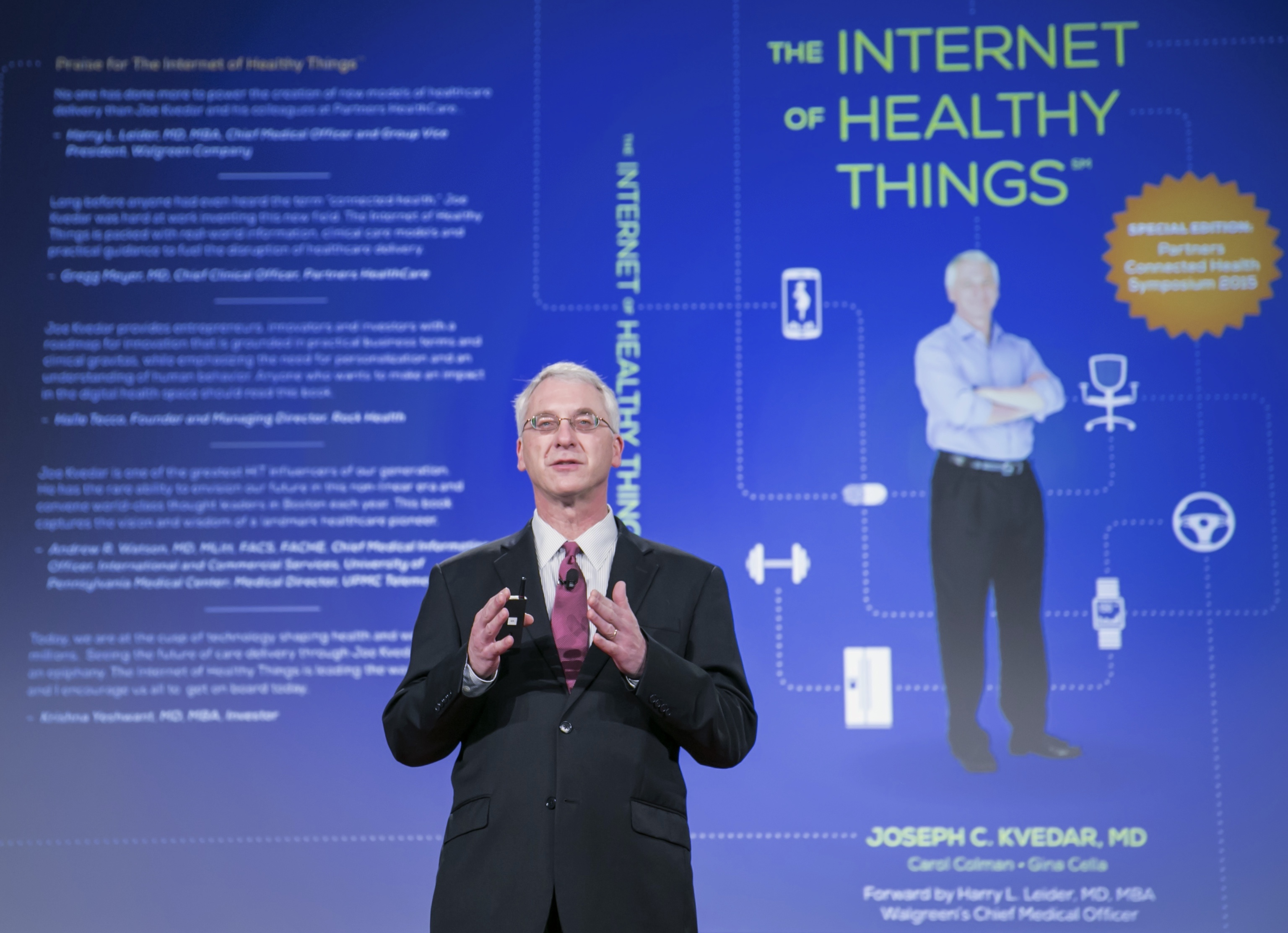 Kvedar, 'The Internet of Healthy Things' Symposium presentation