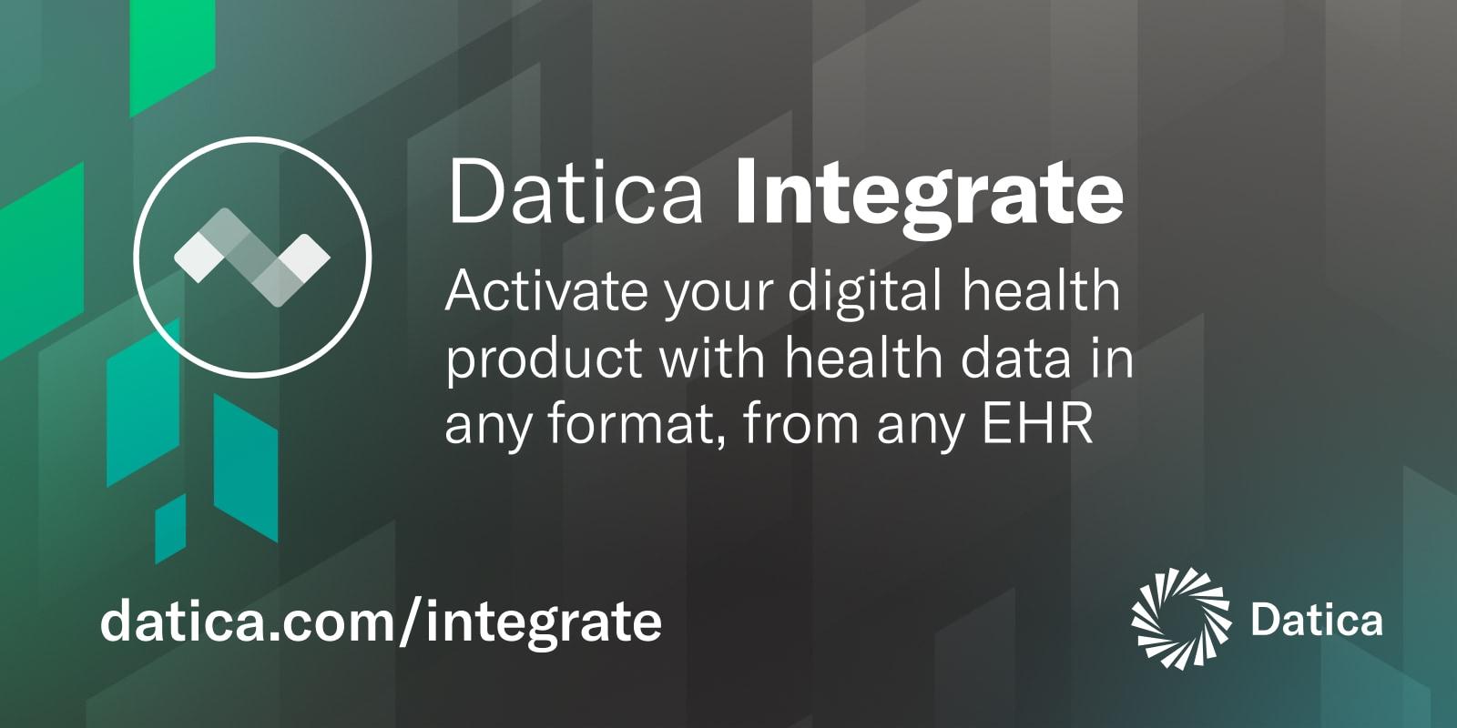Datica Integrate | Compliant Health Data Integration