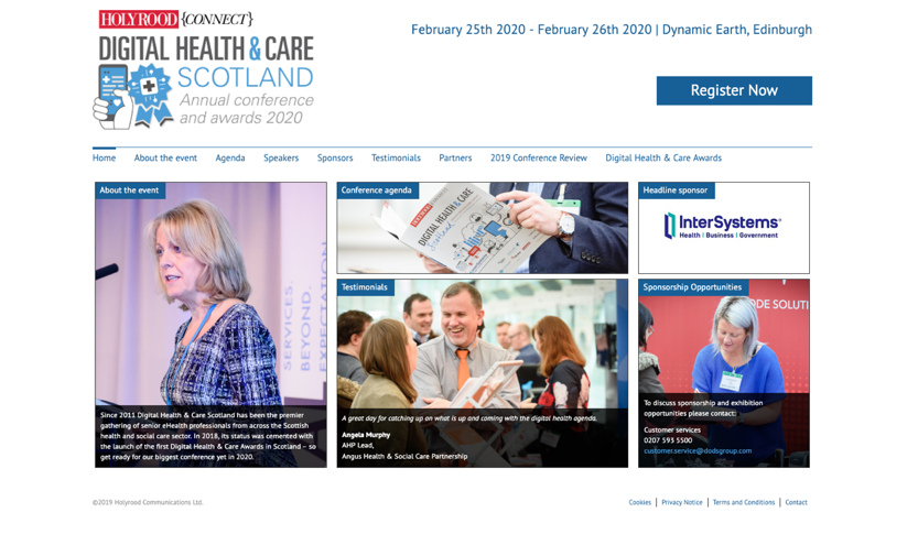 6. Digital Health & Care- Annual Conference & Awards
