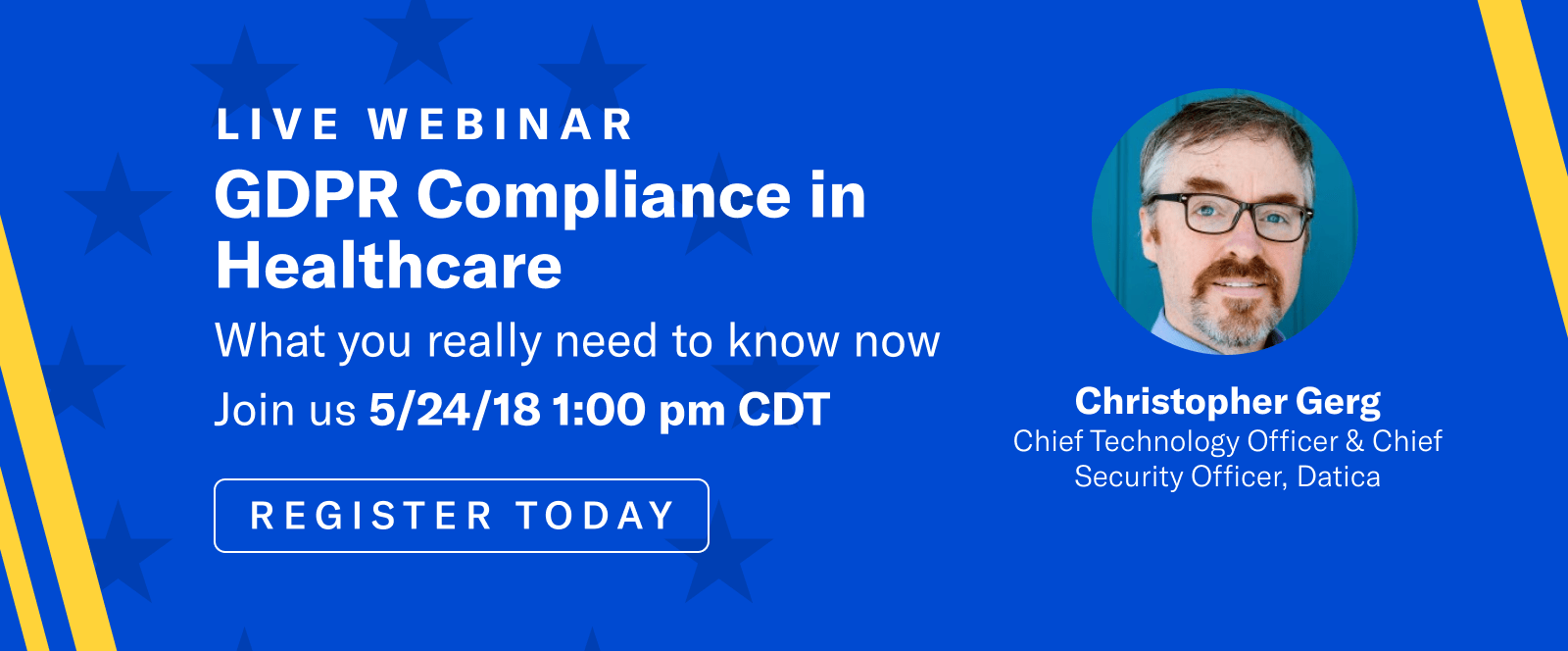 Sign up for the webinar today