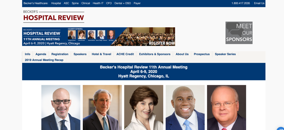 14. Becker's Hospital Review 11th Annual Meeting