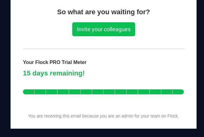 convert free trial users: create urgency