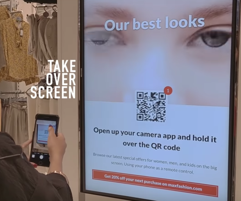 Making QR codes more user-friendly