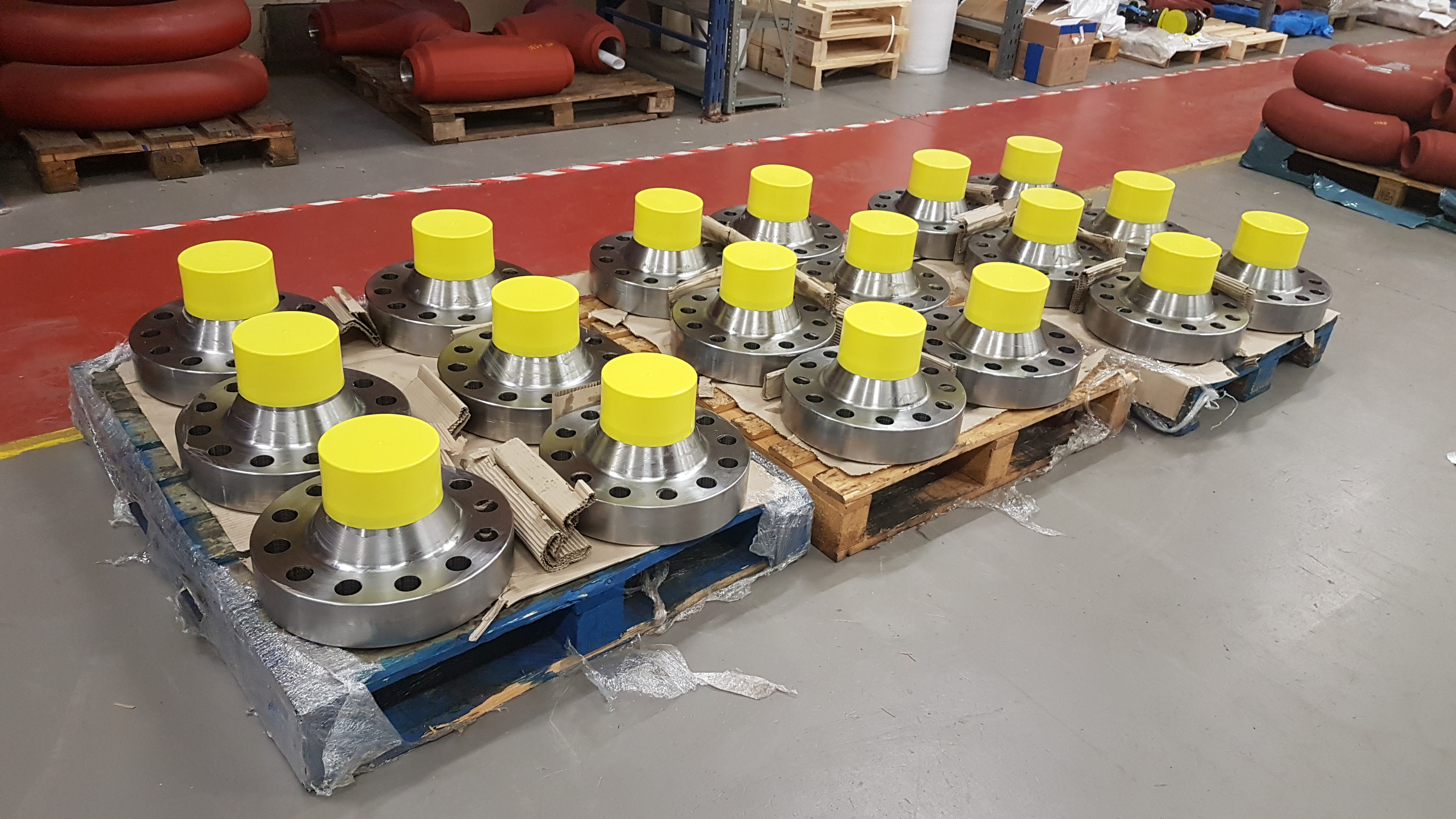 5K API flanges for wellhead project