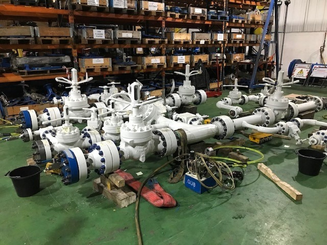 Standpipe manifold Joint Integrity Testing