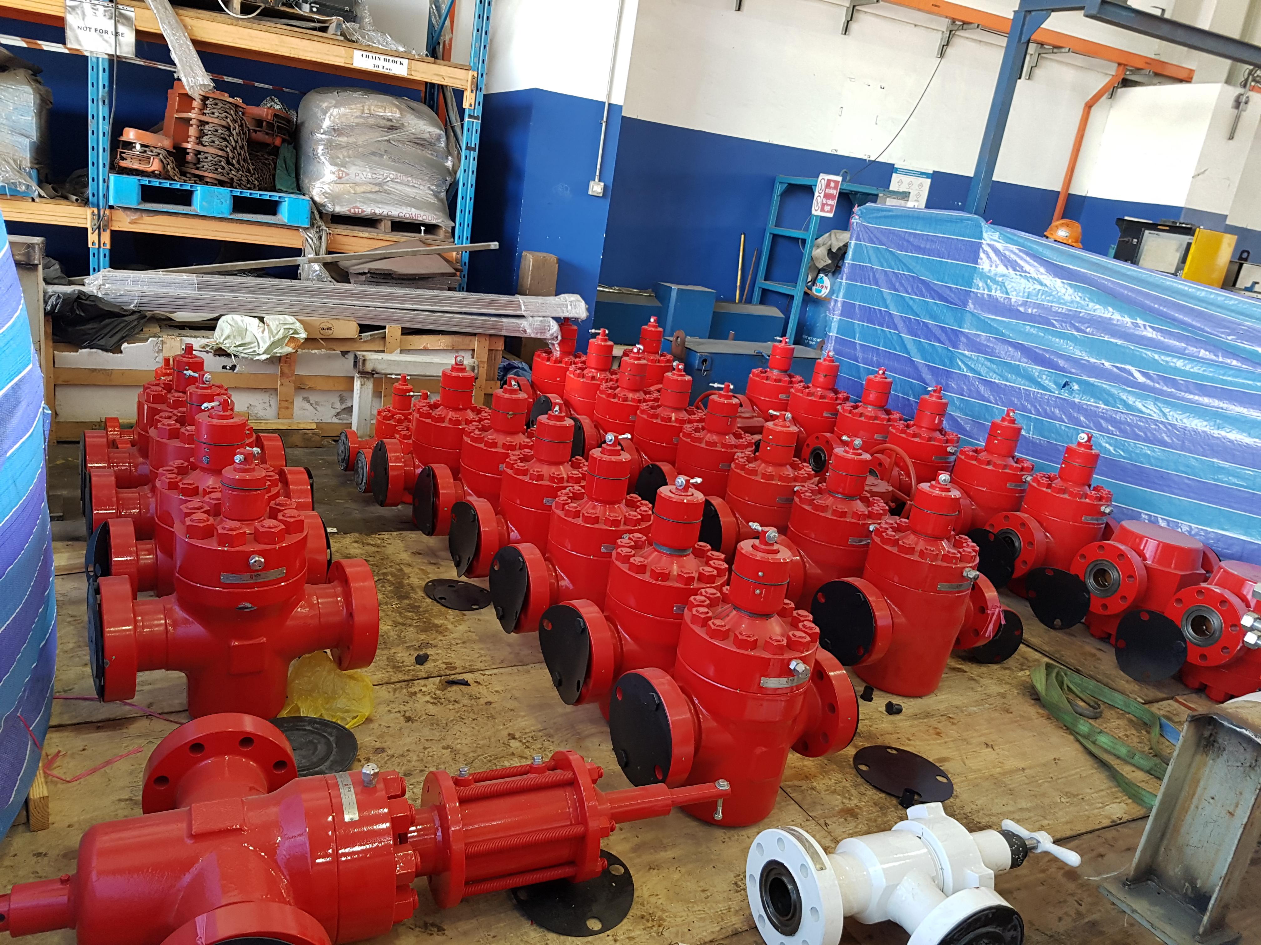 API gate valves