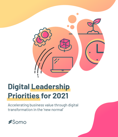 What are the key digital priorities for 2021?