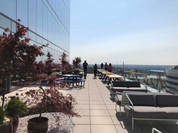 Somo Washington DC office balcony