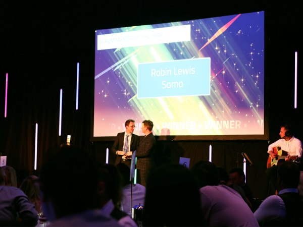 Robin Lewis Digital Leaders Award 2019 ceremony photo