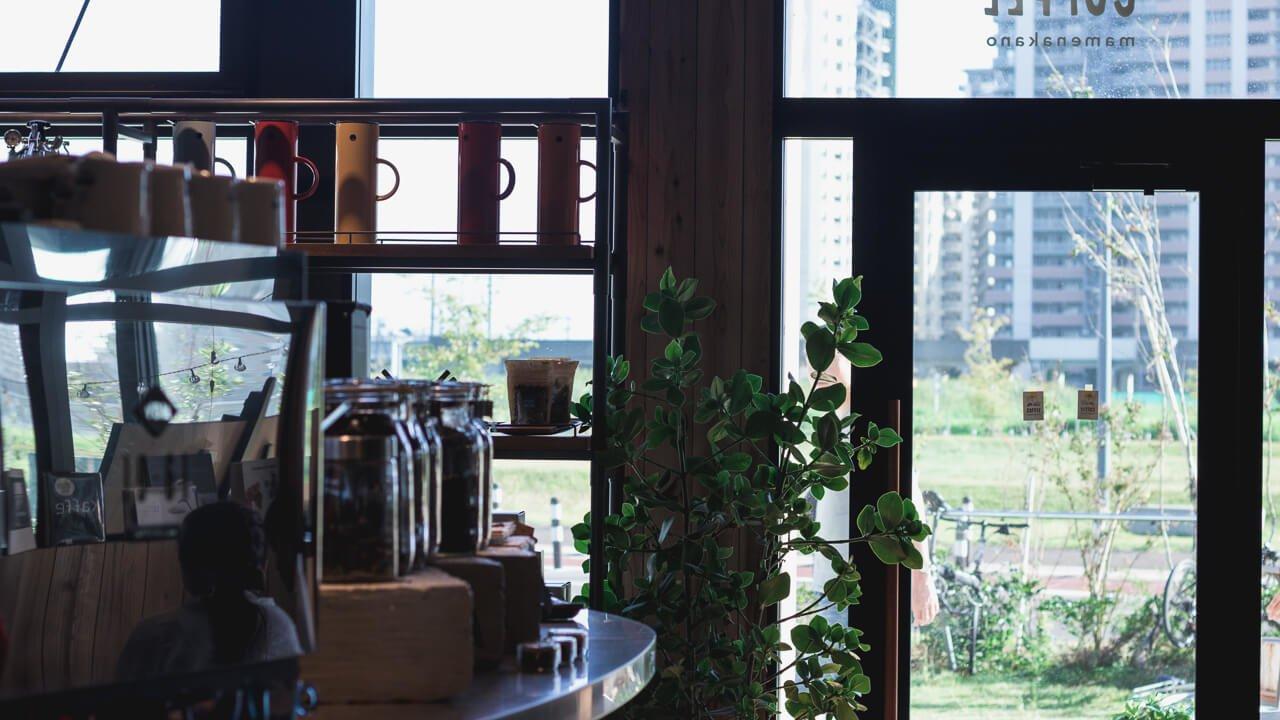 PIE & COFFEE mamenakano の店内