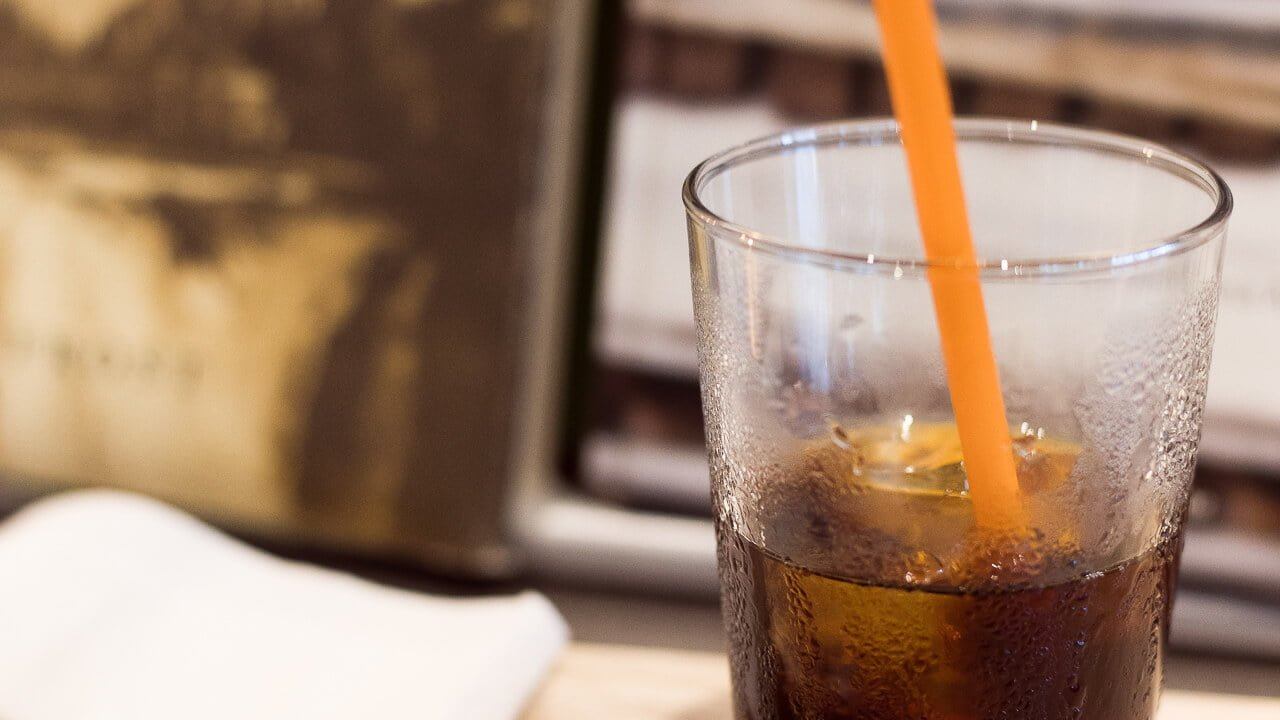 PIE & COFFEE mamenakano のアイスコーヒー
