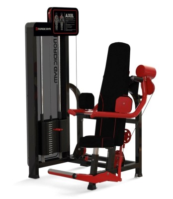 123fl – ADDICTED by Nordic Gym. A machine with even muscle load throughout the movement. Tight weights and low basic load make the training soft, comfortable, gentle and effective. Train the shoulder blade stabilizers and the arm abductors. – Nordic Gym