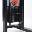 139FL – ADDICTED by Nordic Gym. A new addition to Nordic Gym's fantastically wide range! With this machine you get two exercises in one package, both back shoulders and with a quick adjustment you have a perfect pec dec, chest machine.   – Nordic Gym