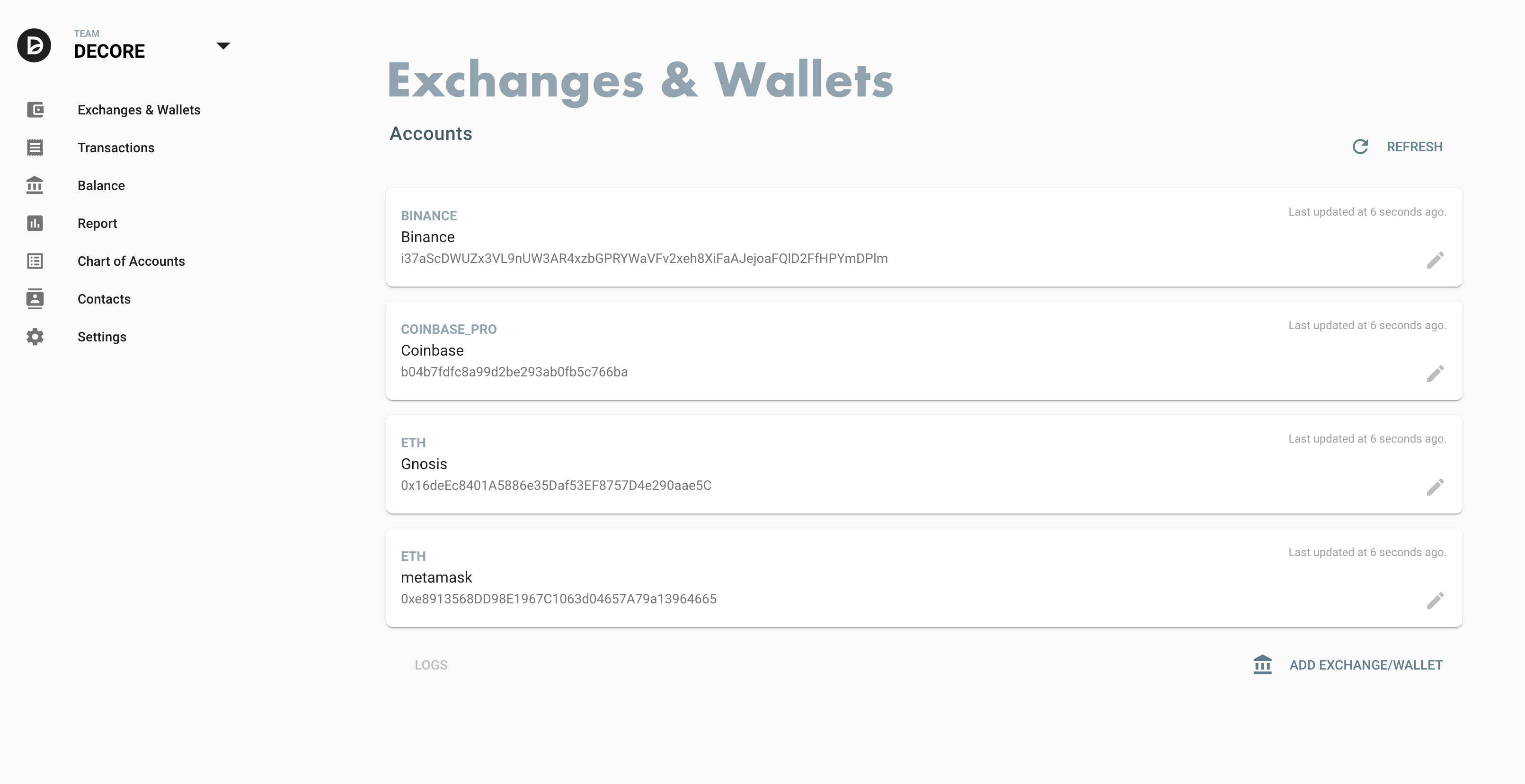 decore-exchanges-wallets