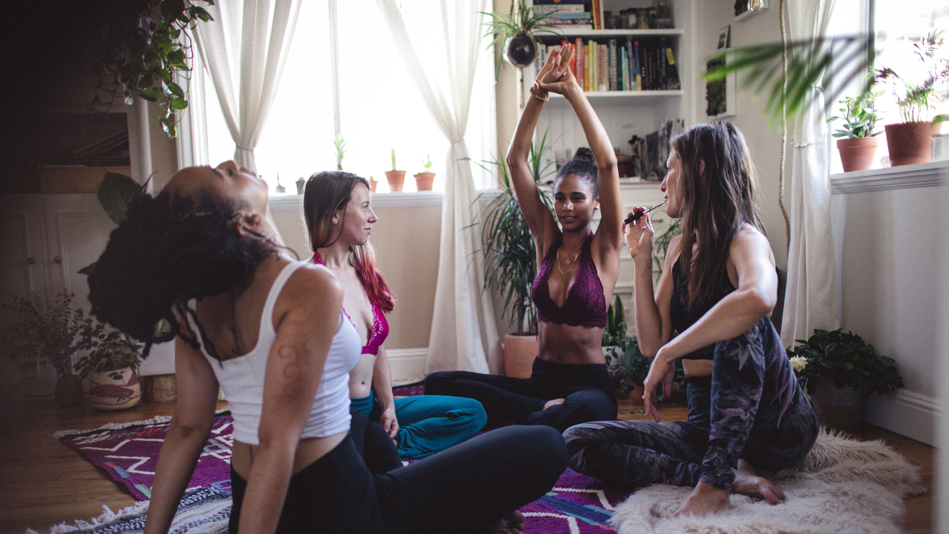 How Could Cannabis Enhance Your Yoga Flow?