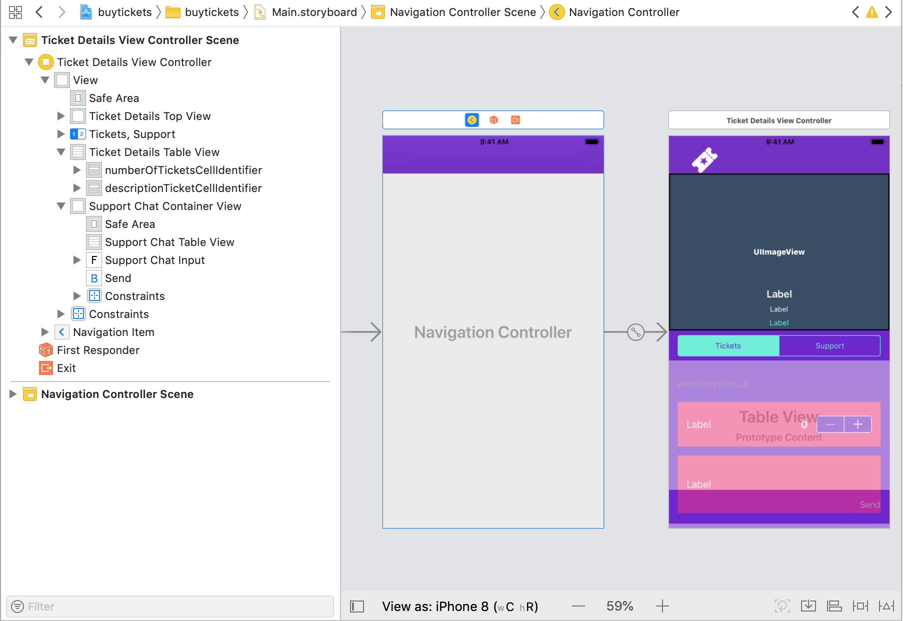 Add chat functionality to your iOS ticketing app